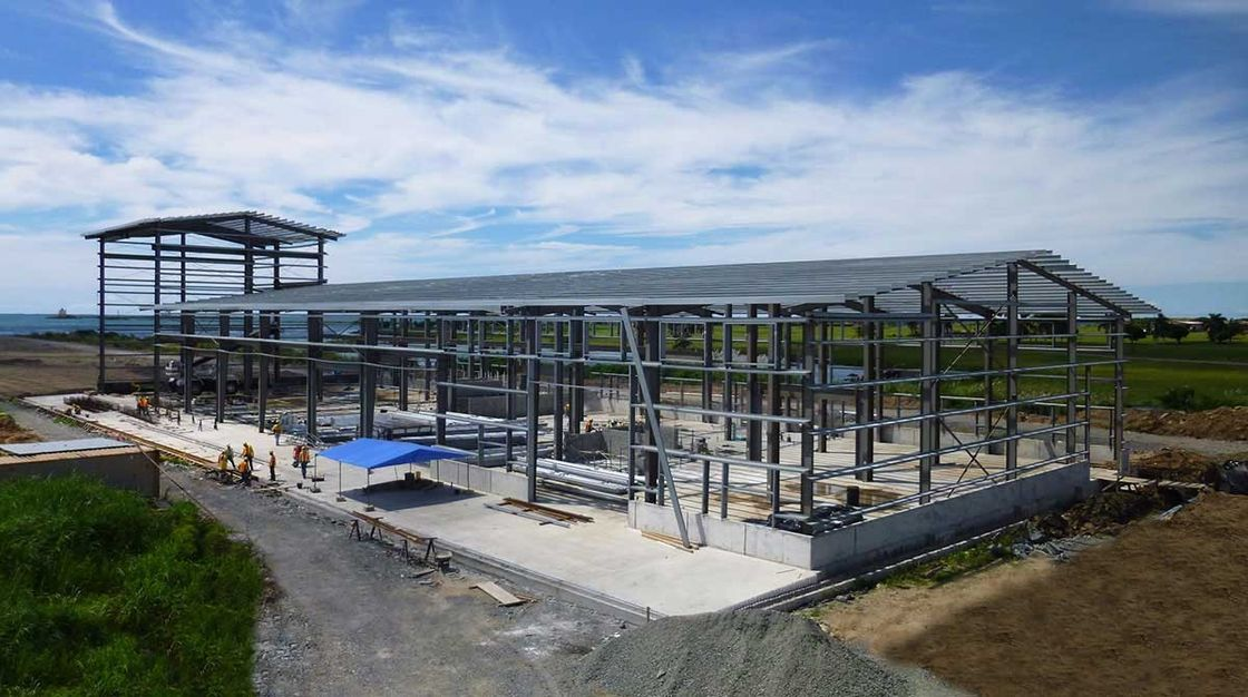 Pre Engineered Buildings With Galvanized Purlins And Girts