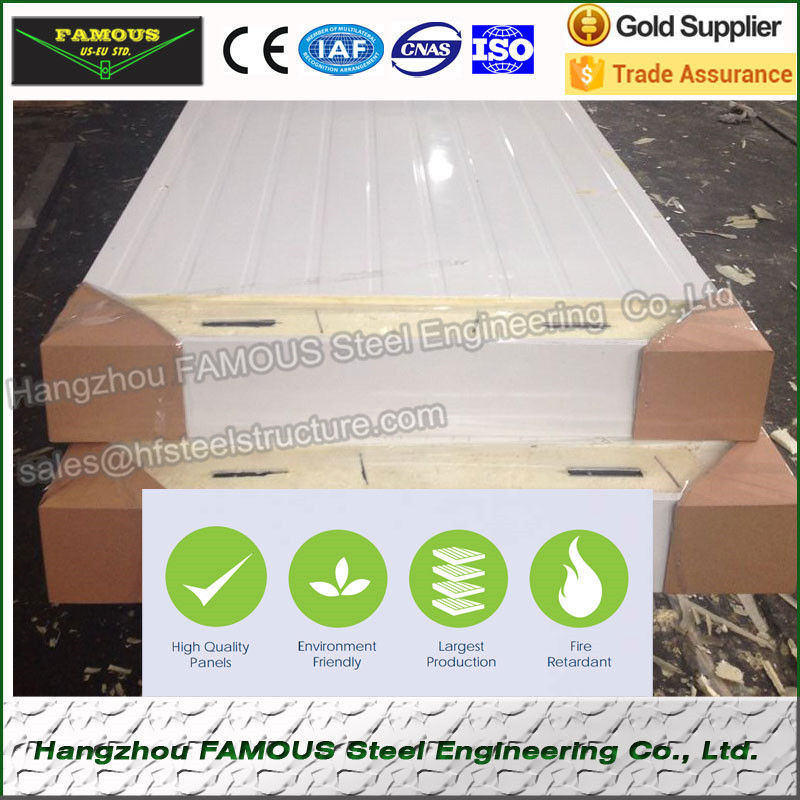 POPULAR Energy-saving PU sandwich panel for cold room